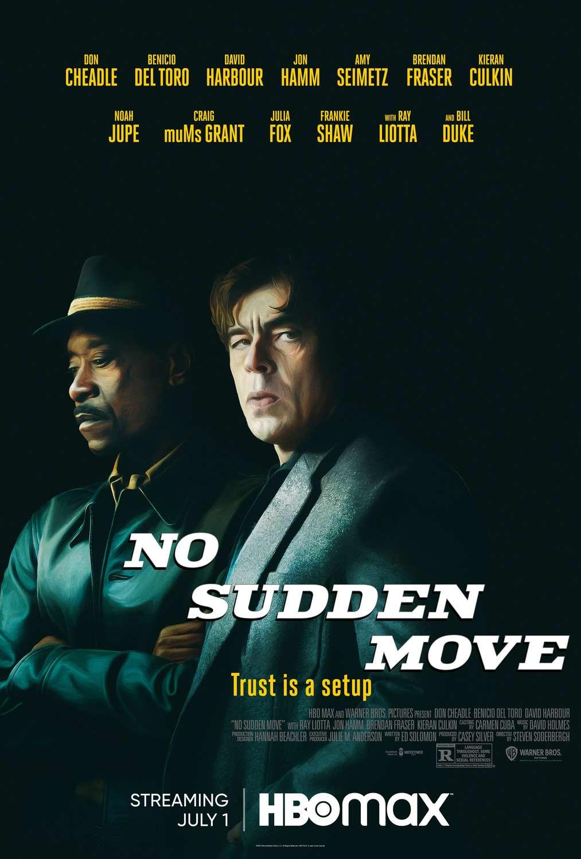 No Sudden Move kapak