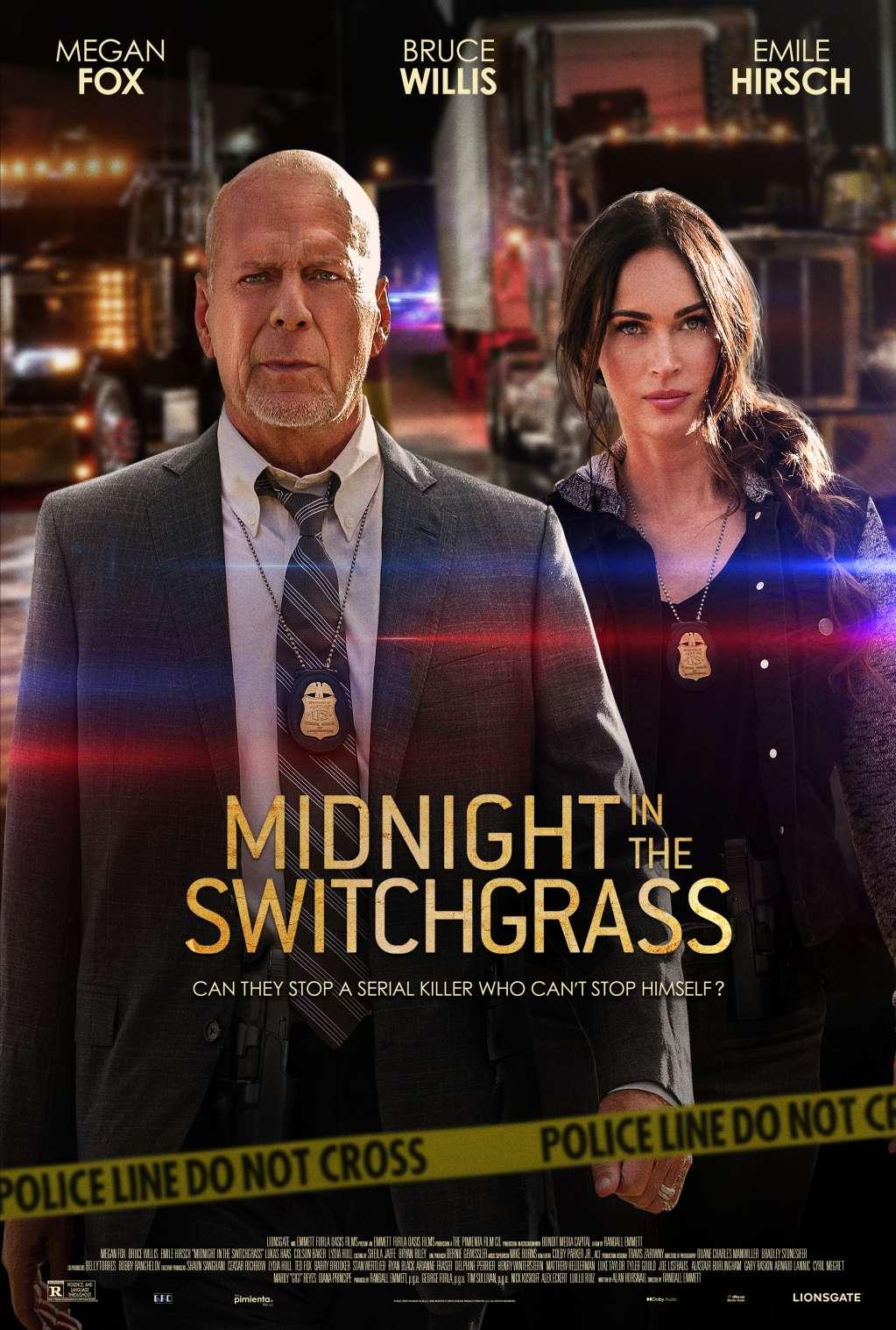 Midnight in the Switchgrass kapak