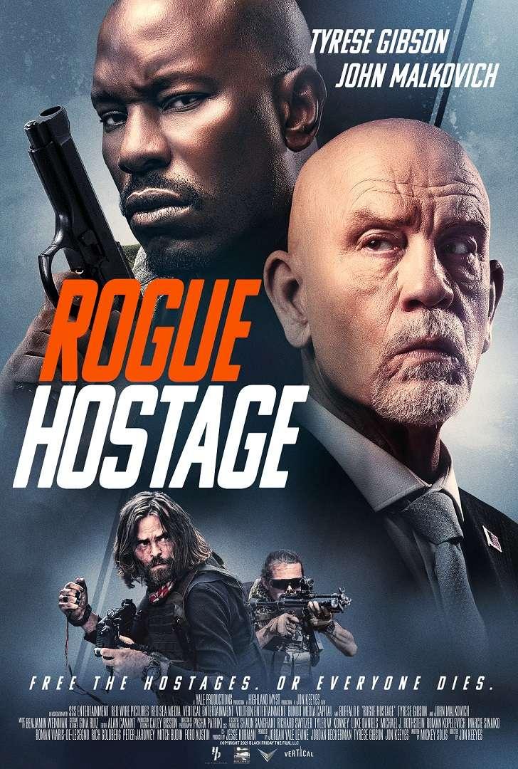 Rogue Hostage kapak