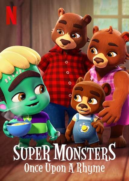 Super Monsters: Once Upon a Rhyme kapak