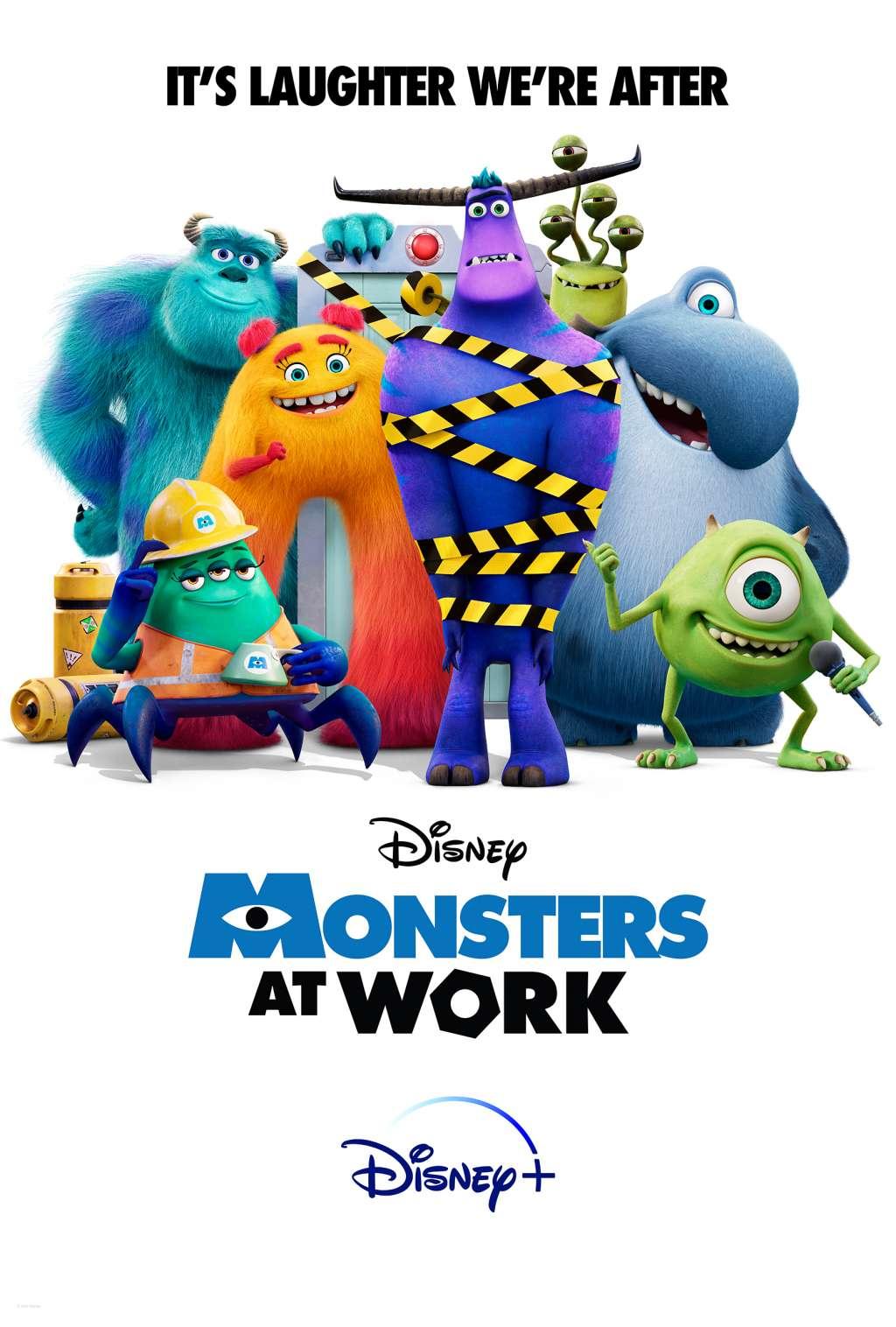 Monsters at Work kapak