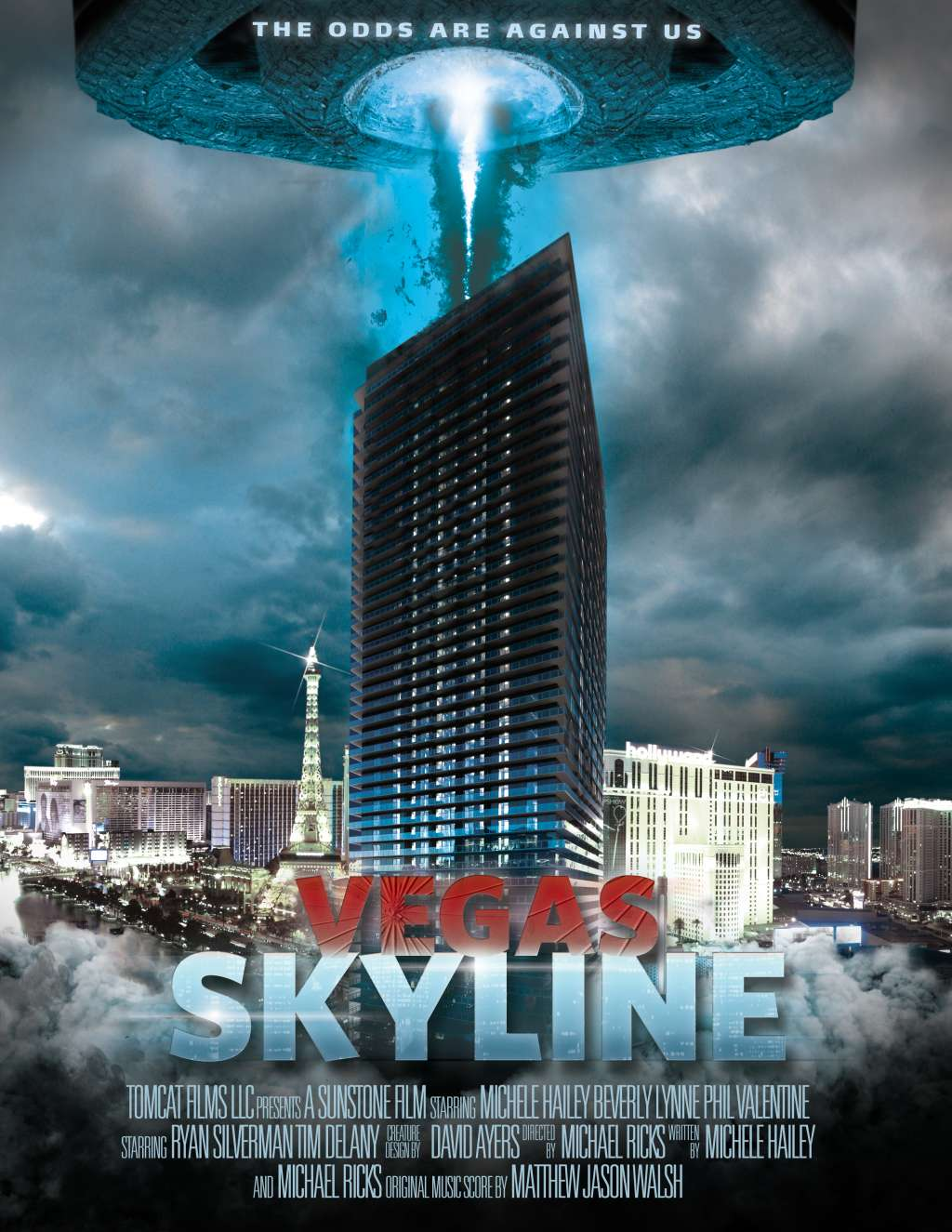Vegas Skyline kapak
