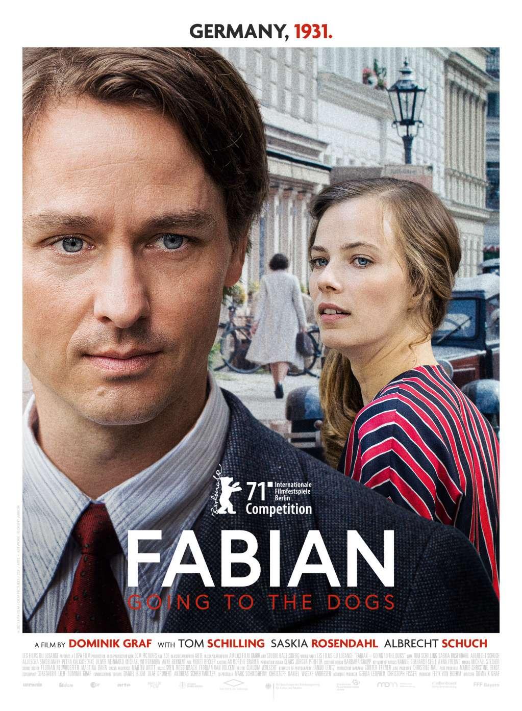 Fabian: Going to the Dogs kapak