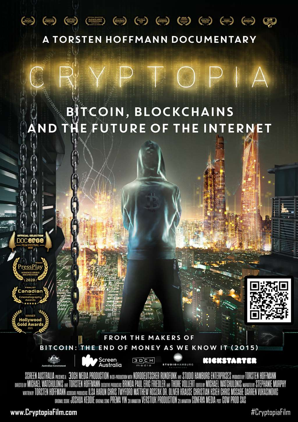 Cryptopia: Bitcoin, Blockchains and the Future of the Internet kapak