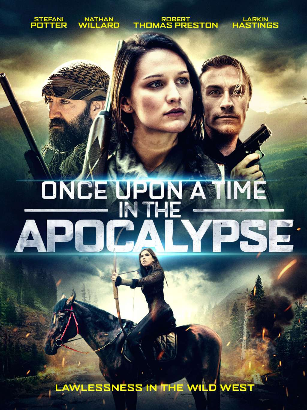 Once Upon a Time in the Apocalypse kapak