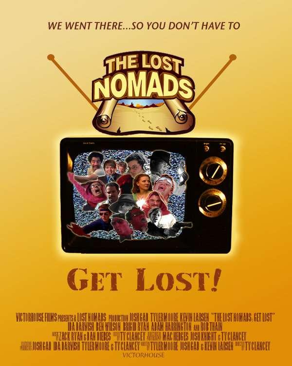 The Lost Nomads: Get Lost! kapak