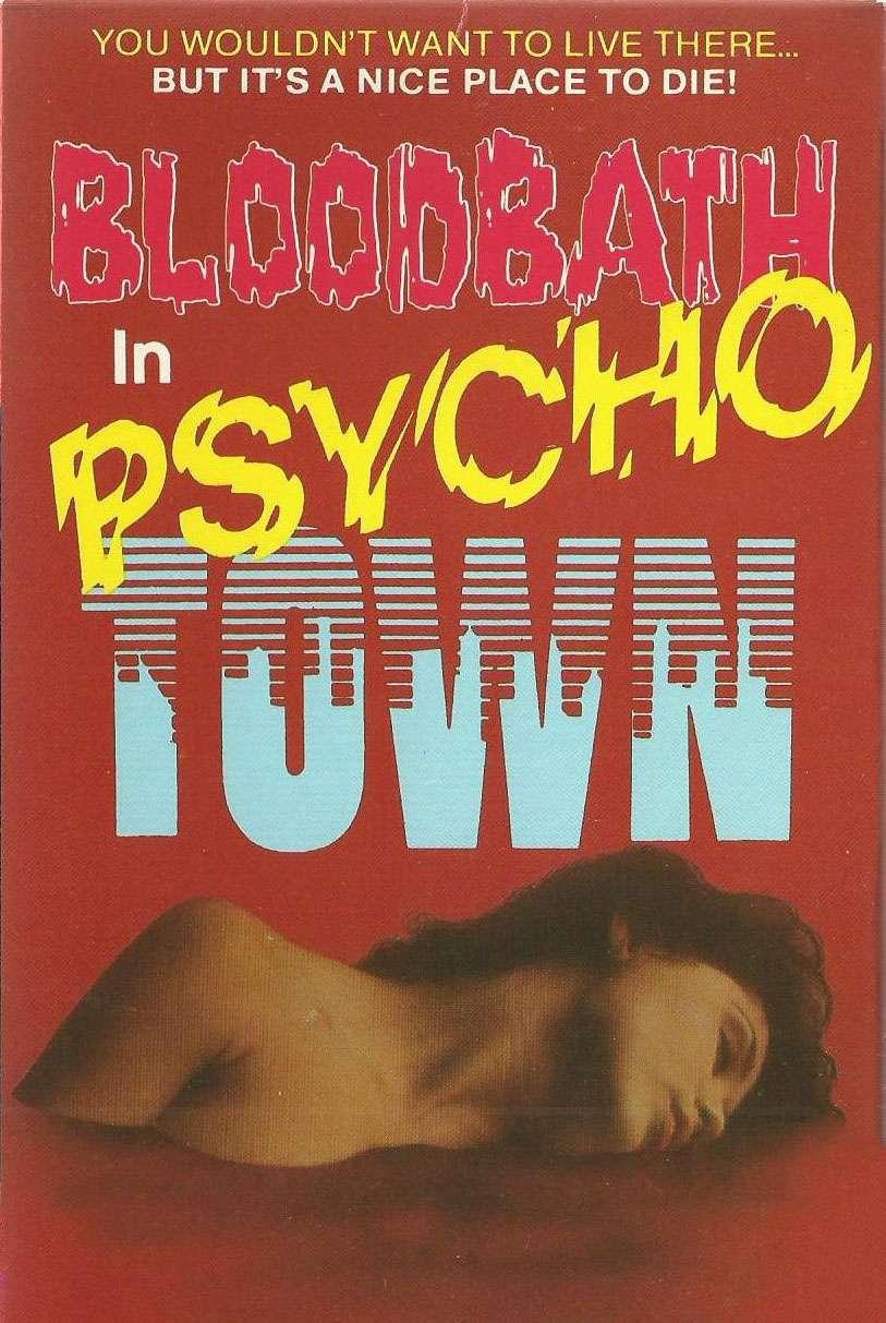 Bloodbath in Psycho Town kapak
