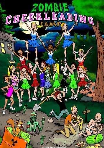 Zombie Cheerleading Camp kapak