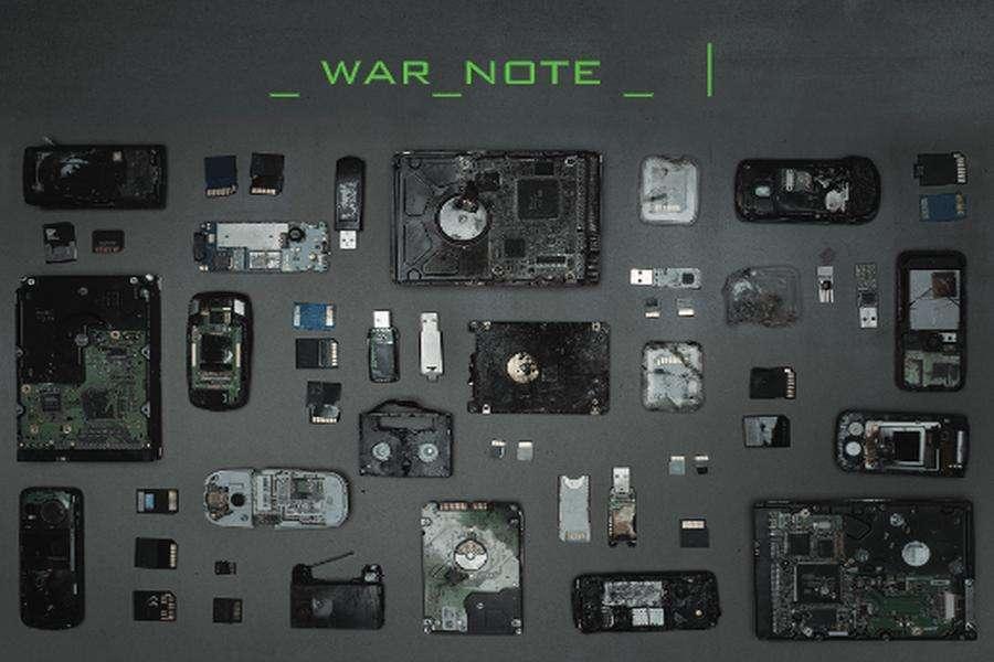 War Note kapak