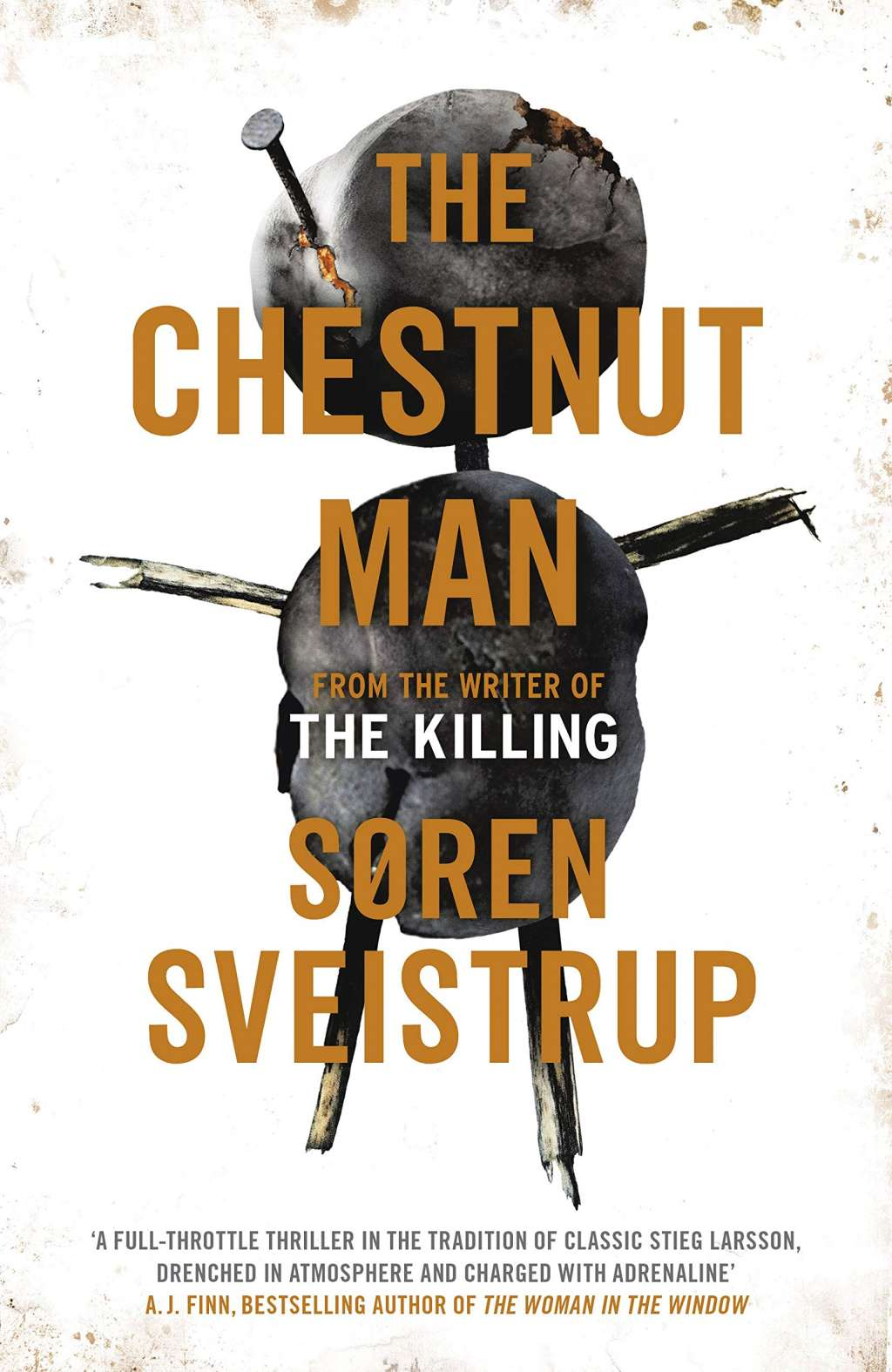 The Chestnut Man kapak