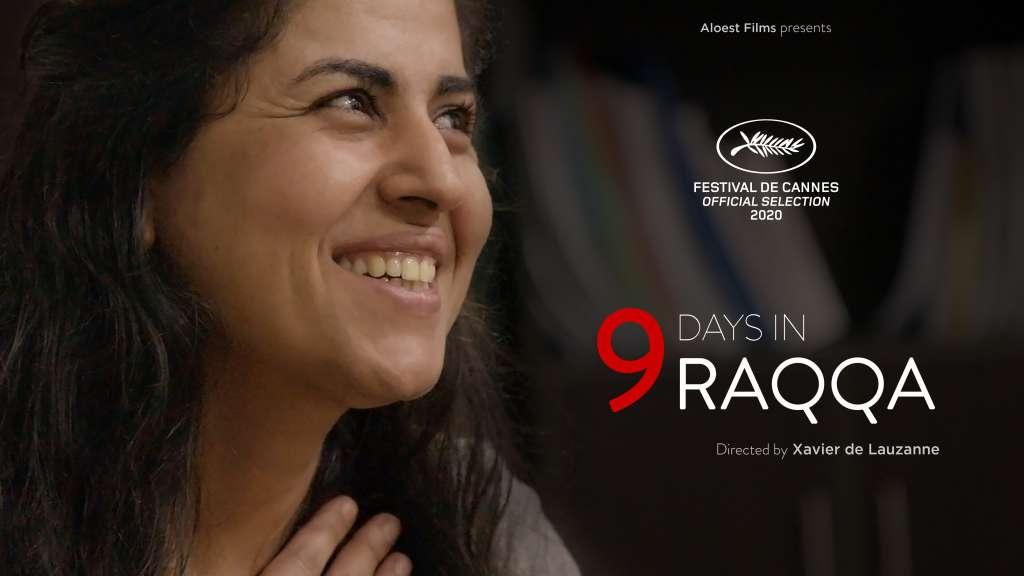 9 Days in Raqqa kapak
