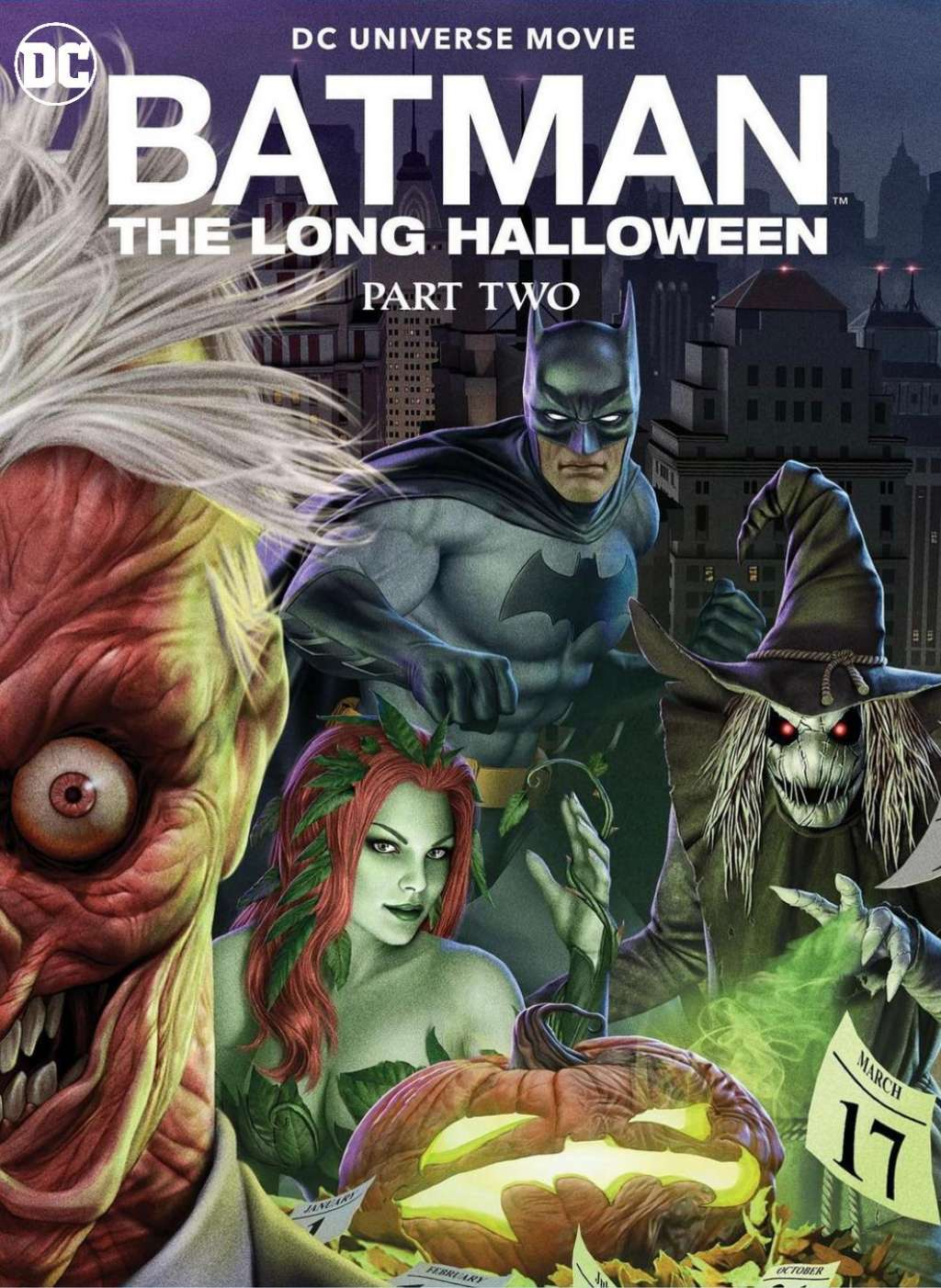Batman: The Long Halloween, Part Two kapak