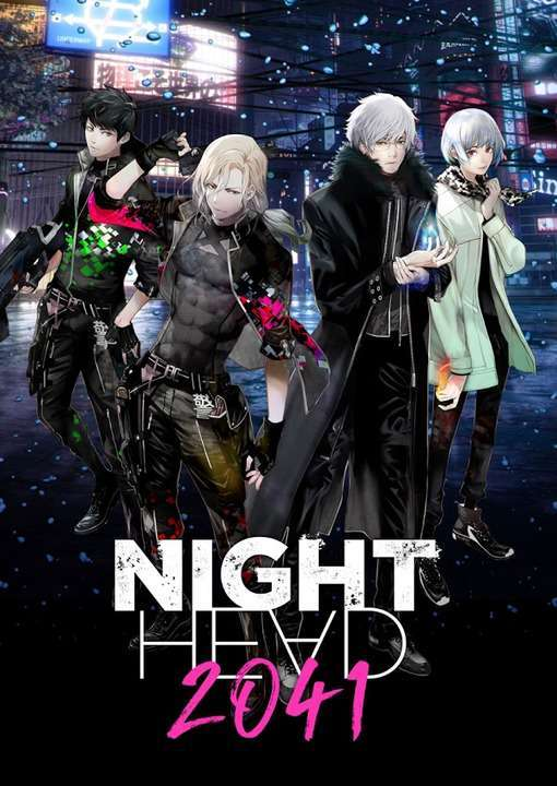 Night Head 2041 kapak