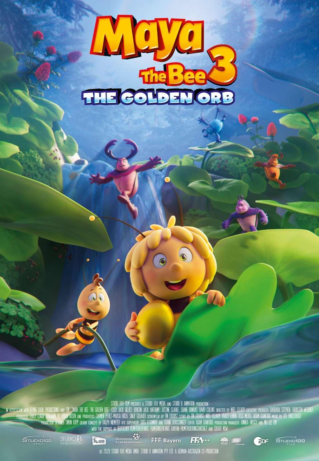Maya the Bee 3: The Golden Orb kapak
