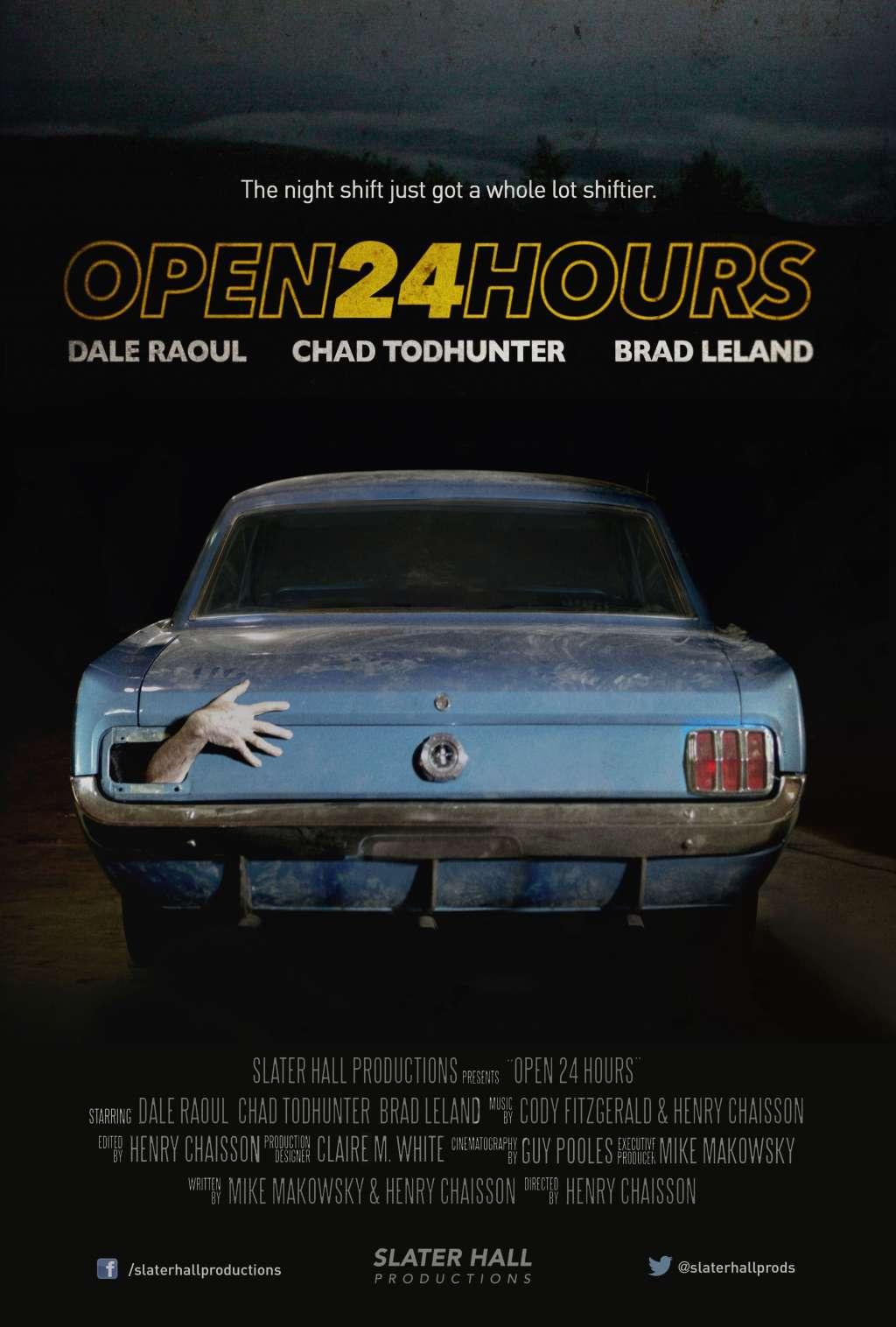 Open 24 Hours kapak