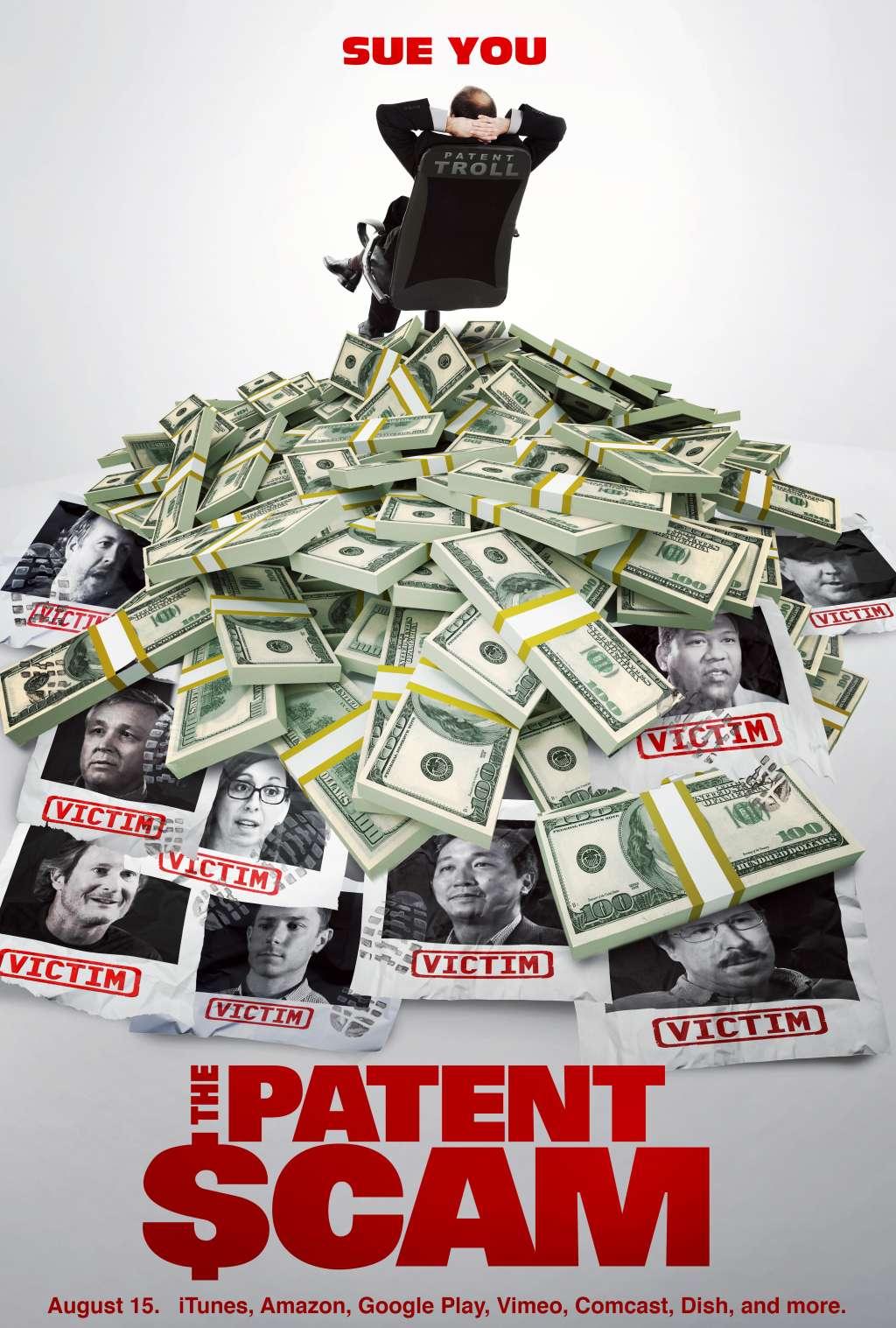 The Patent Scam kapak