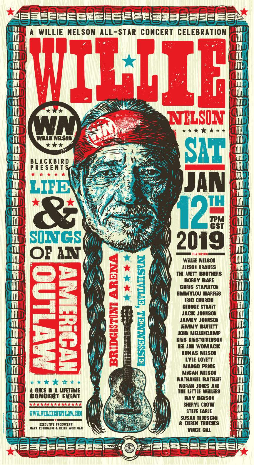 Willie Nelson American Outlaw kapak