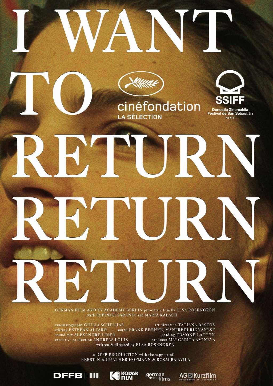 I Want to Return Return Return kapak