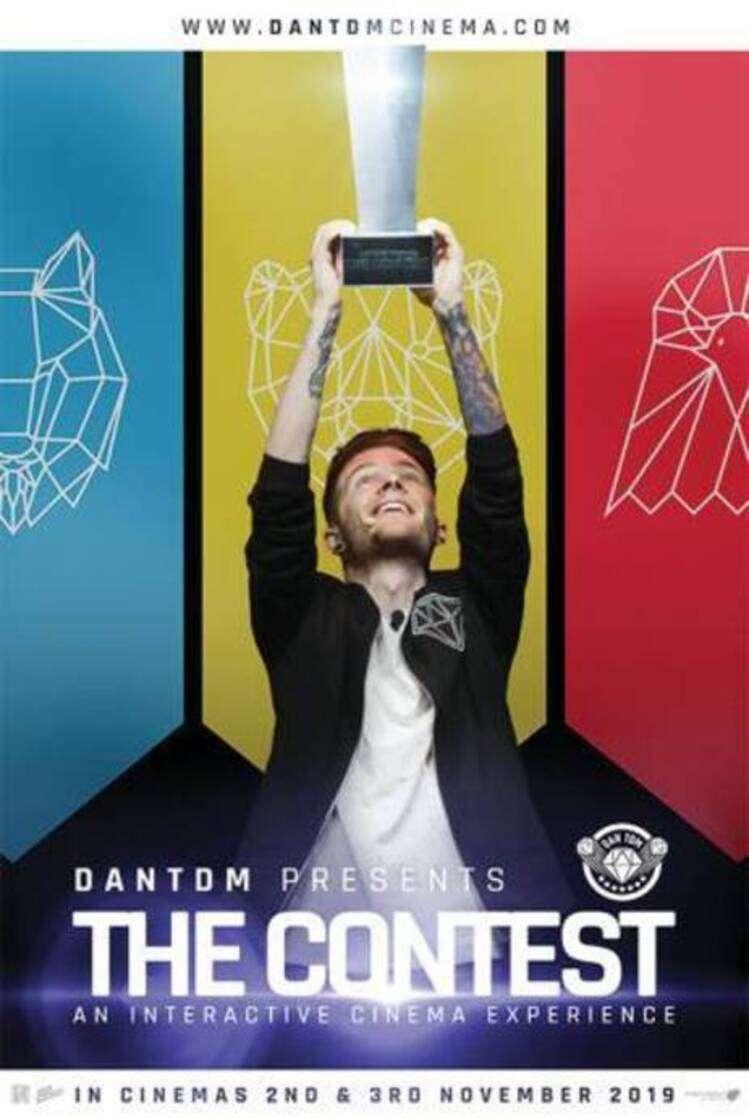 DanTDM Presents The Contest kapak