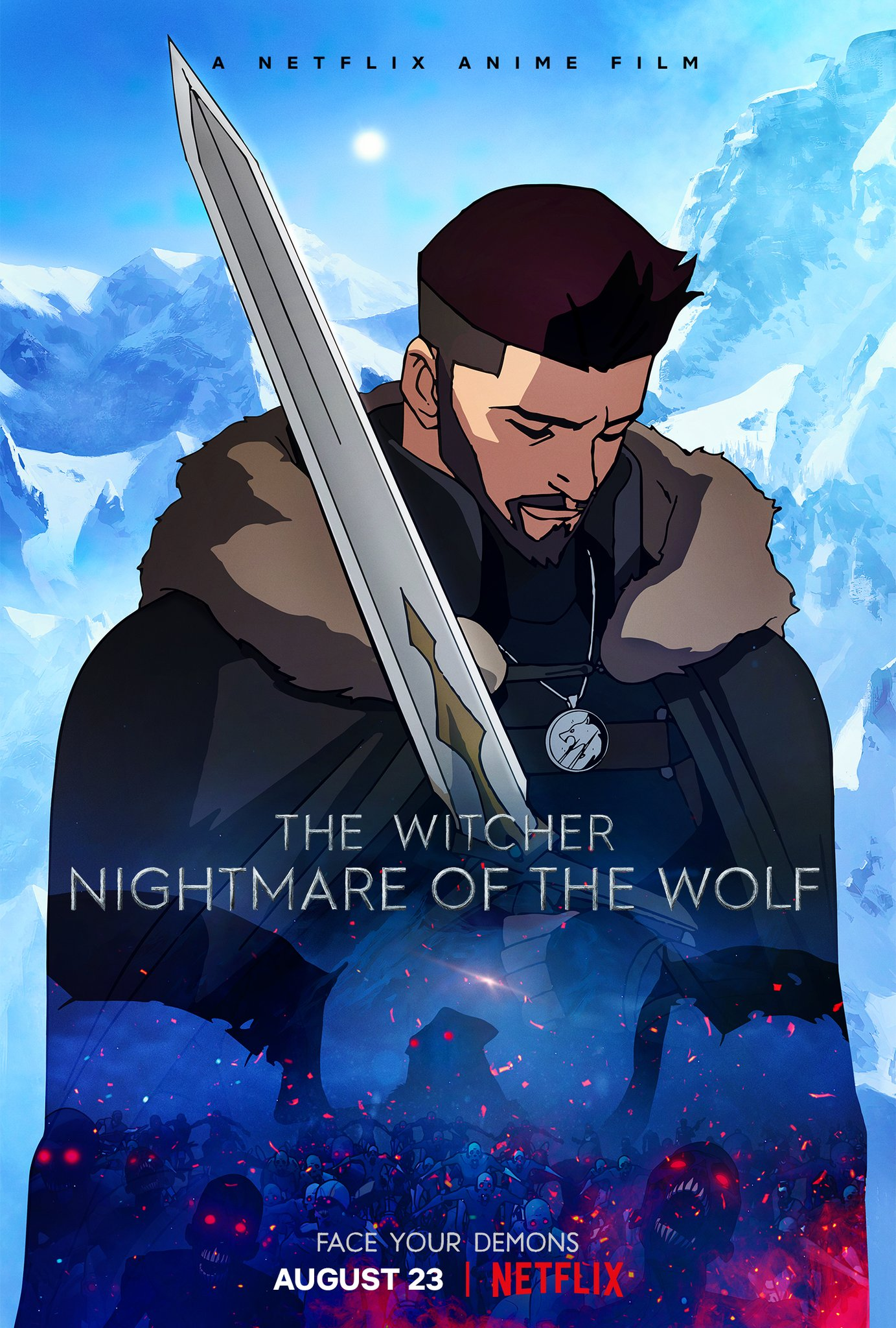 The Witcher: Nightmare of the Wolf kapak
