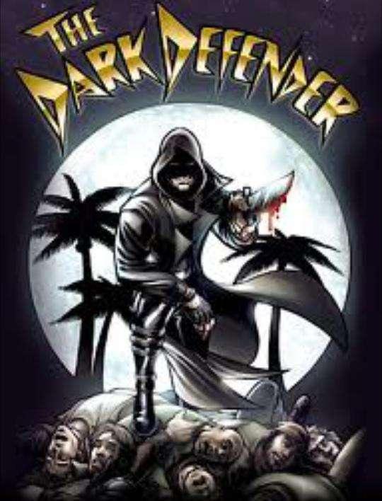 The Dark Defender kapak