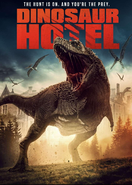 Dinosaur Hotel kapak