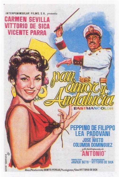 Pan, amor y Andalucía kapak