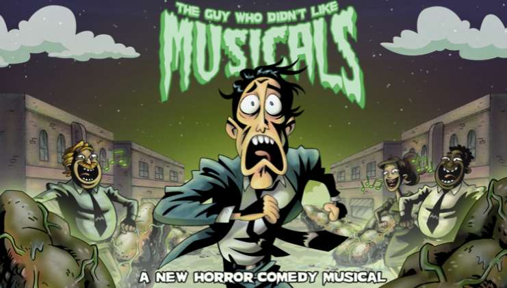 The Guy Who Didn't Like Musicals kapak