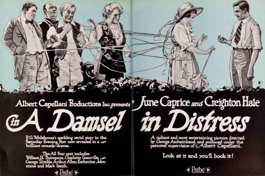 A Damsel in Distress kapak