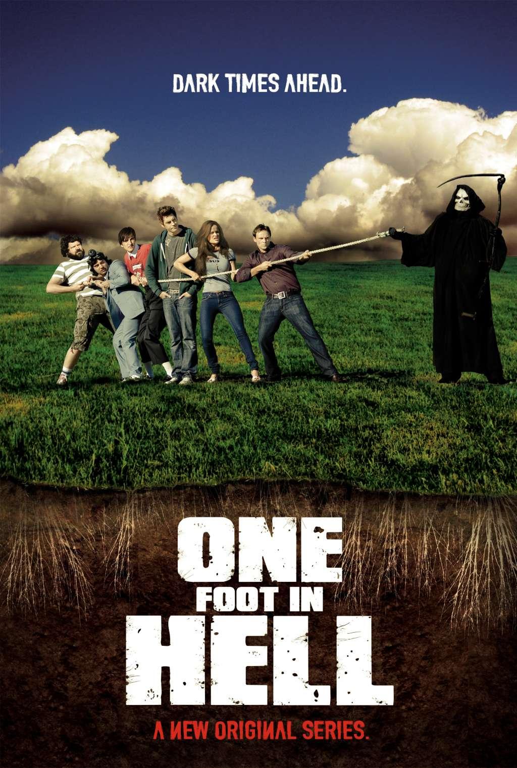 One Foot in Hell kapak