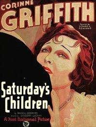 Saturday's Children kapak