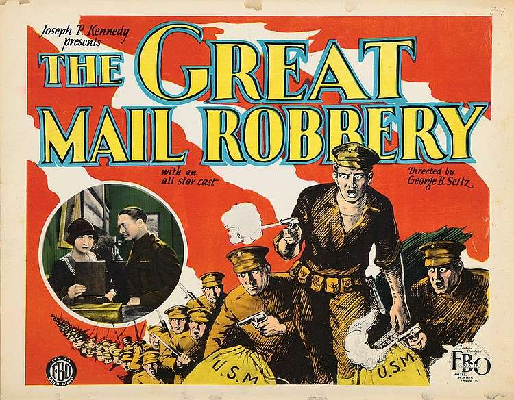 The Great Mail Robbery kapak