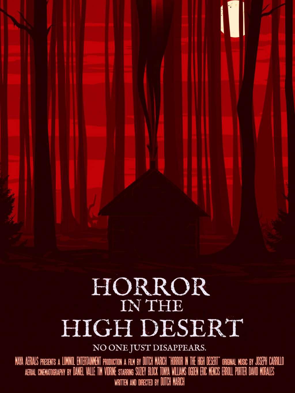 Horror in the High Desert kapak