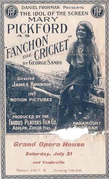 Fanchon, the Cricket kapak