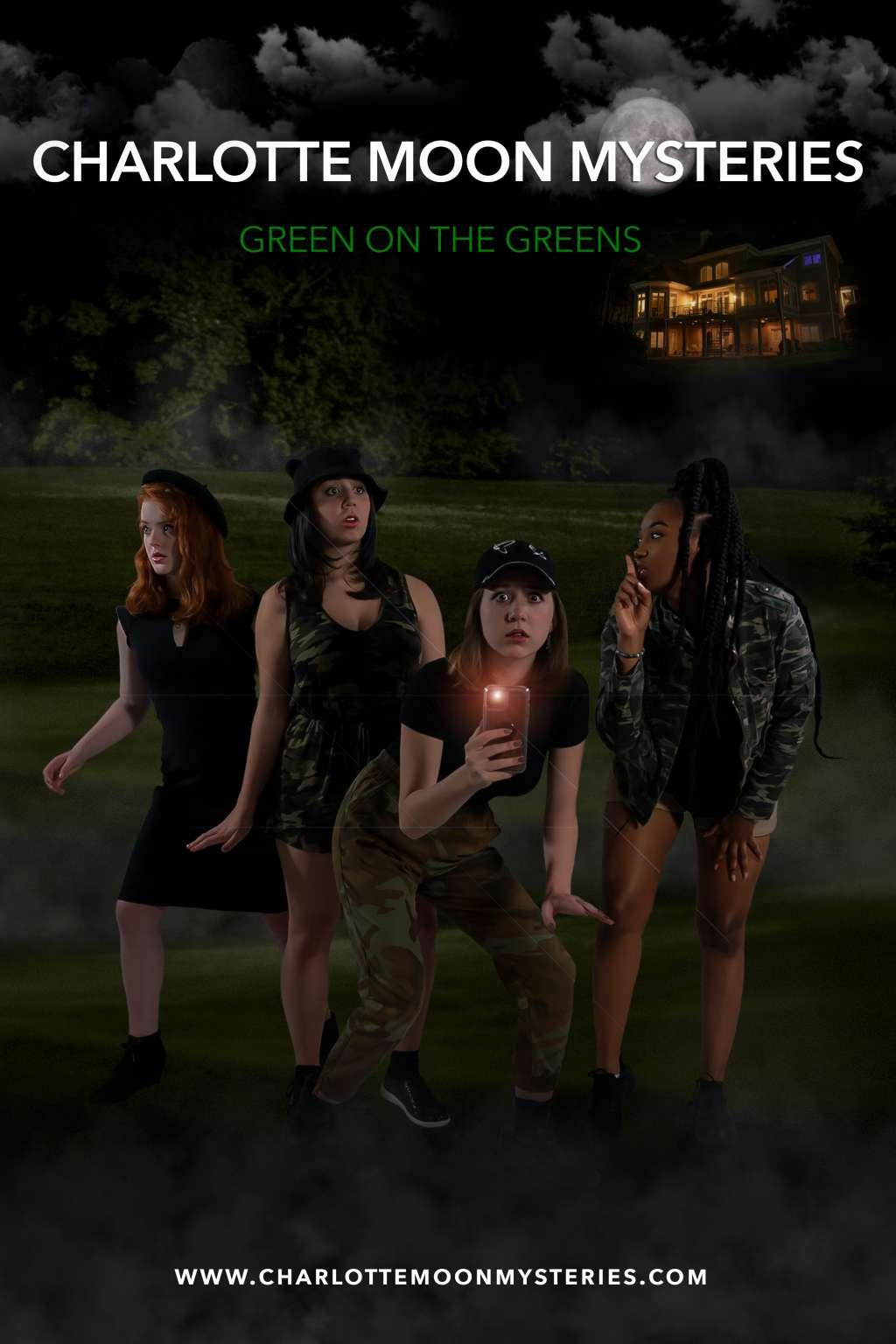 Charlotte Moon Mysteries: Green on the Greens kapak