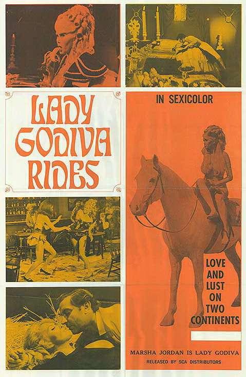 Lady Godiva Rides kapak