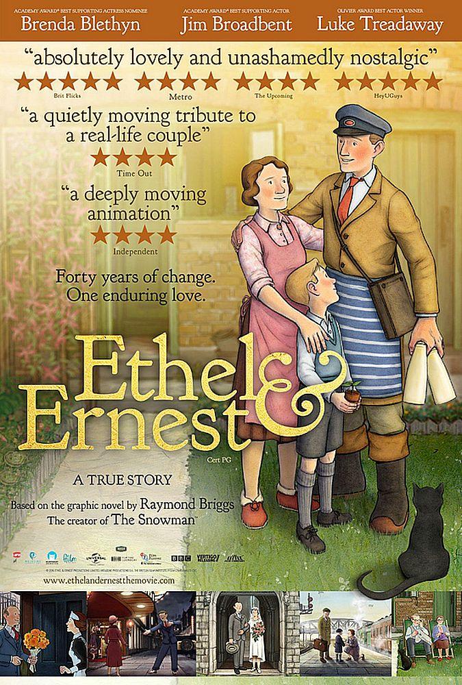 Ethel & Ernest kapak