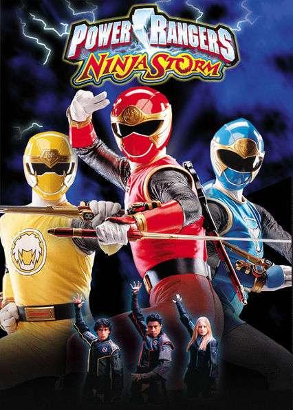 Power Rangers Ninja Storm kapak