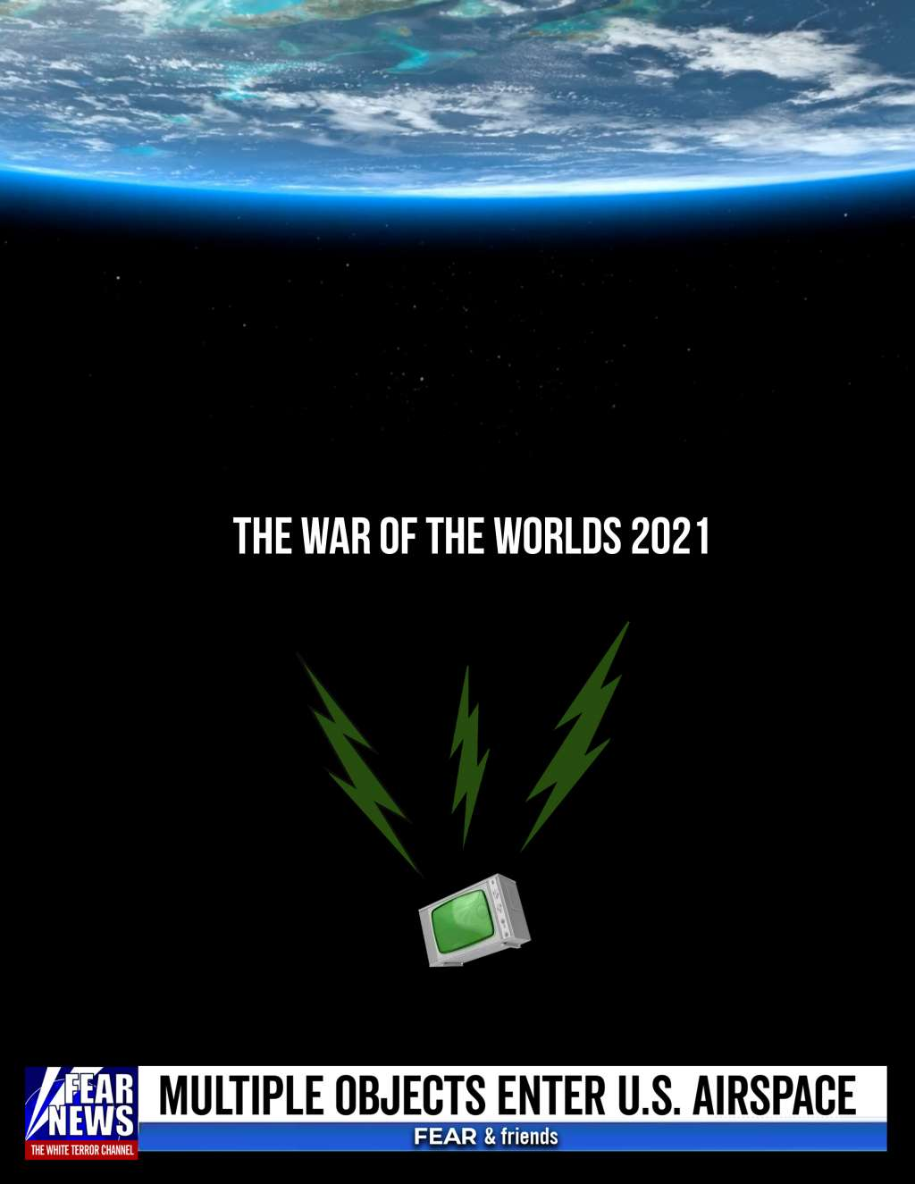 The War of the Worlds 2021 kapak