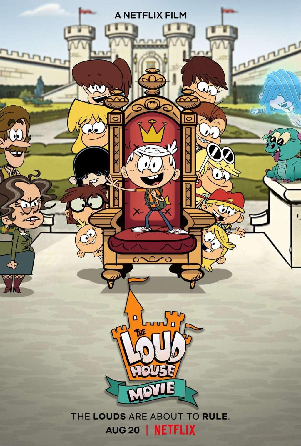 The Loud House Movie kapak