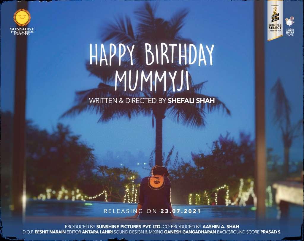 Happy Birthday Mummyji kapak
