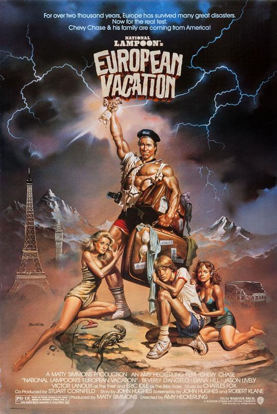 National Lampoon's European Vacation kapak