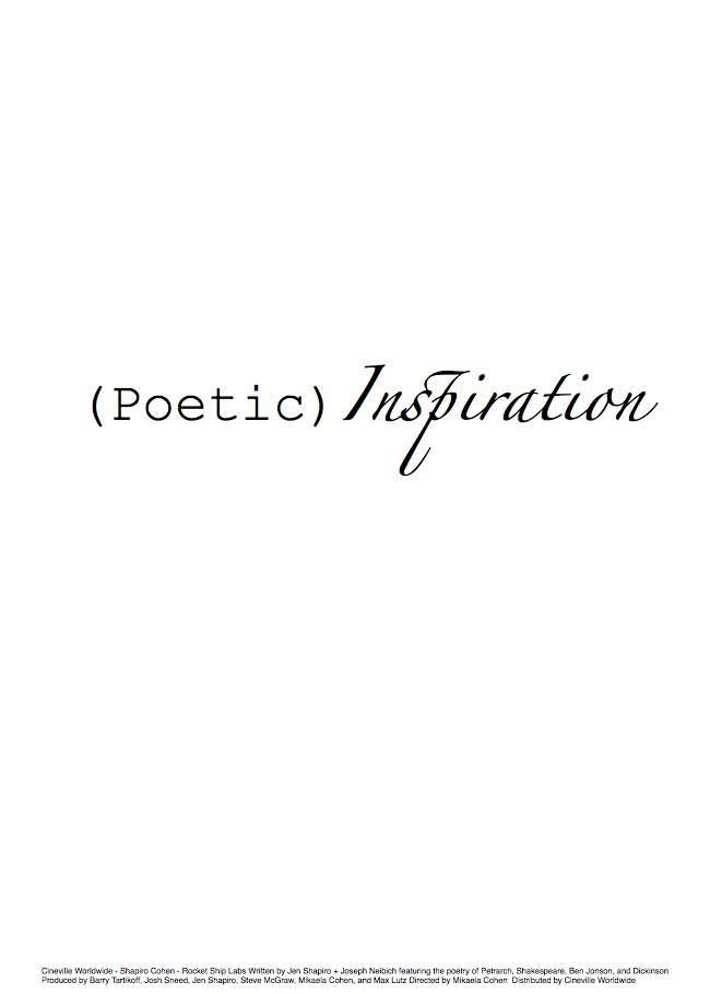 Poetic Inspirations kapak