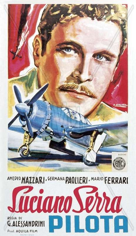 Luciano Serra, pilota kapak