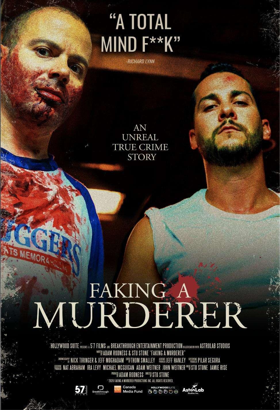 Faking A Murderer kapak