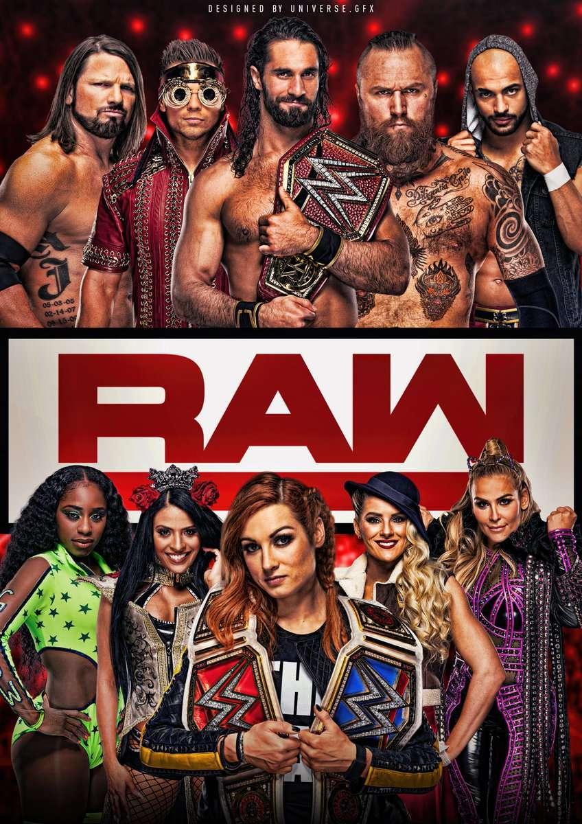 WWE Raw kapak