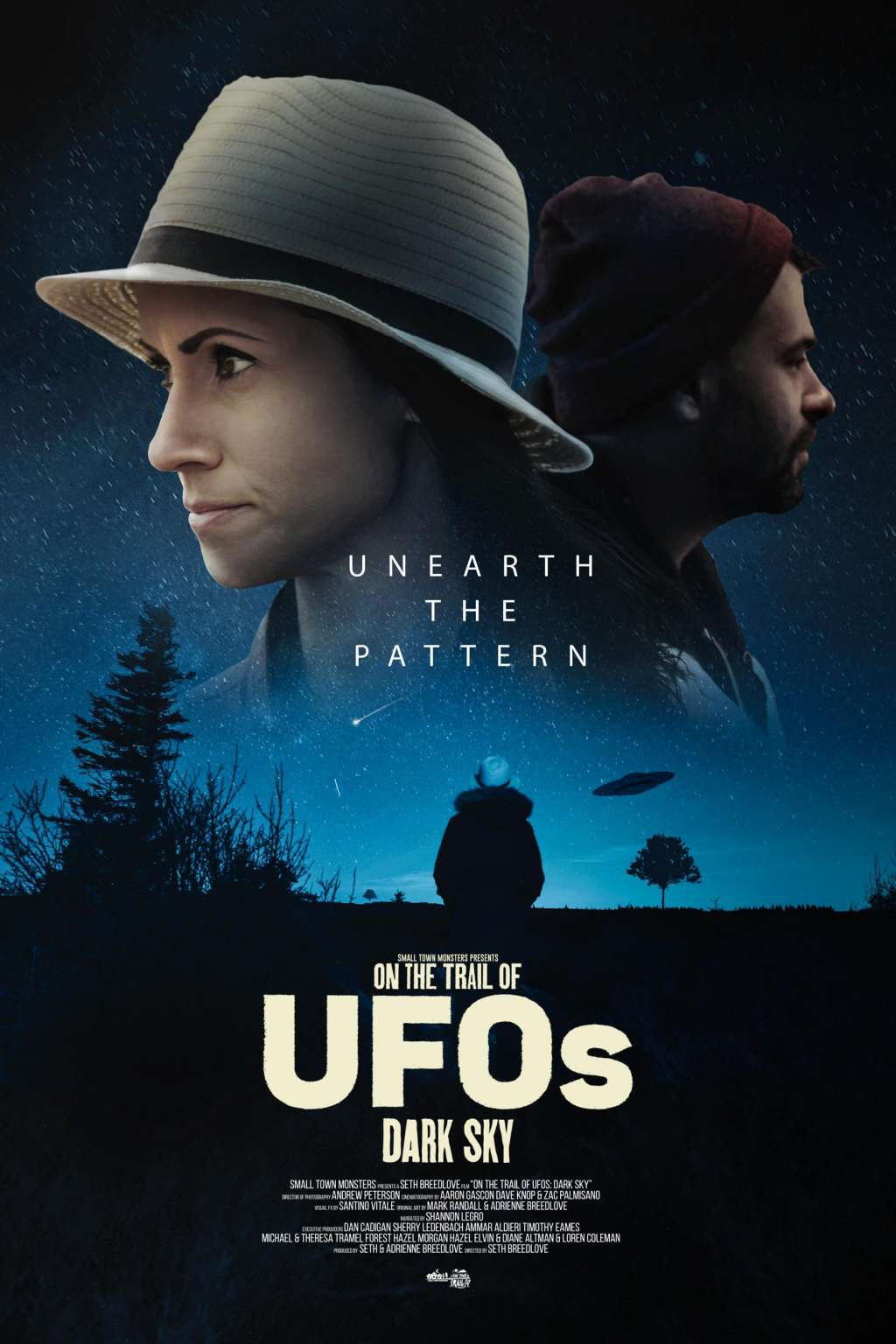 On the Trail of UFOs: Dark Sky kapak