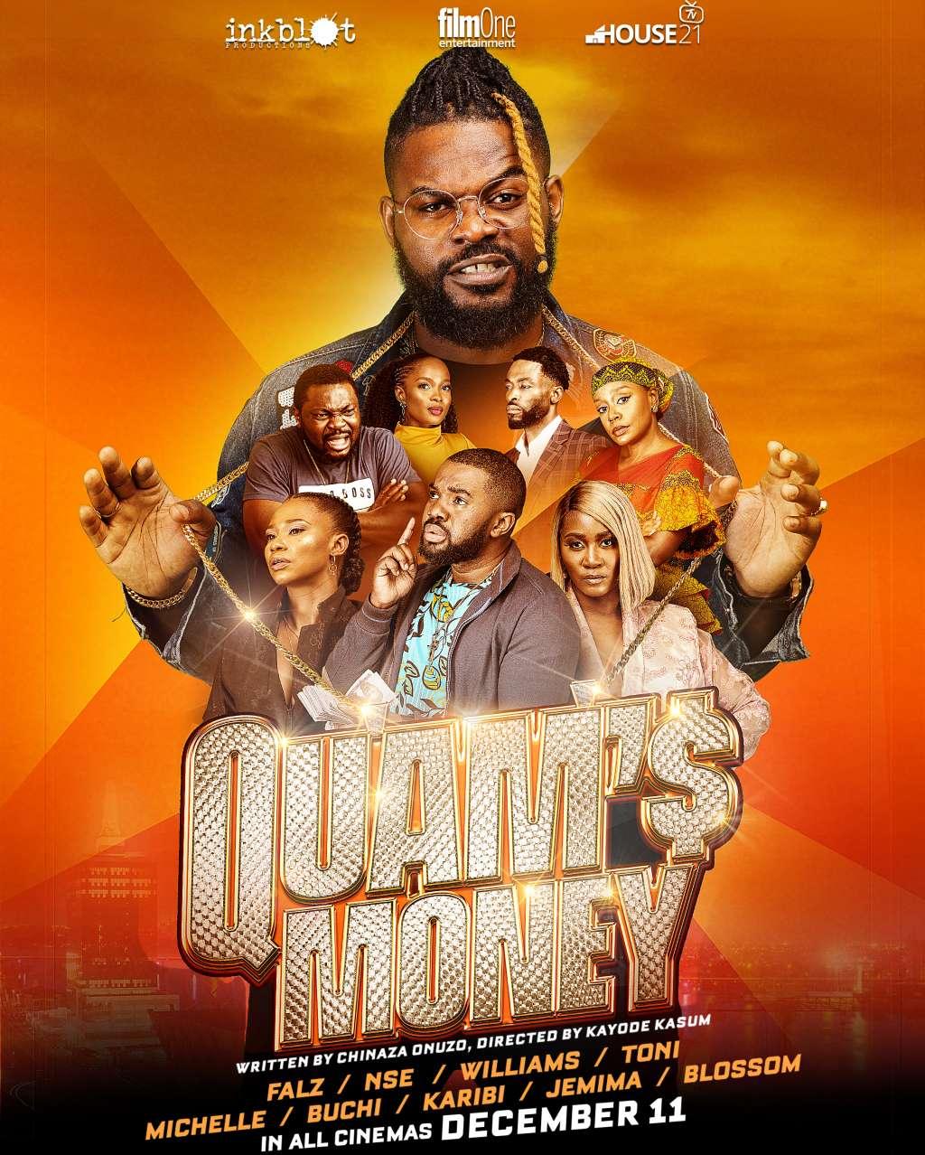 Quam's Money kapak