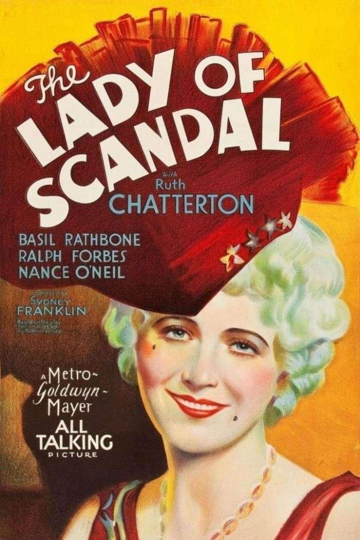 The Lady of Scandal kapak
