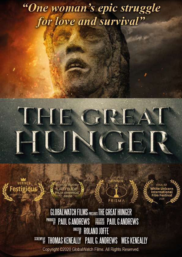 The Great Hunger kapak